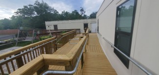 Retrofitting Existing Wooden Guardrail to Become ADA Compliant