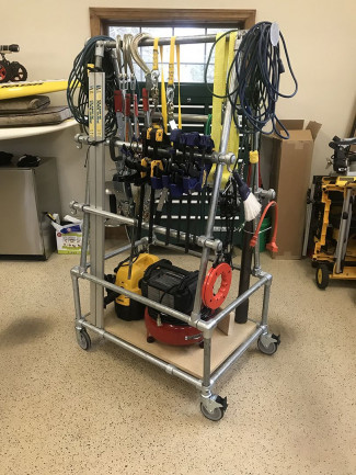 DIY Clamp and Equipment Storage Rack (with Step-by-Step Plans)