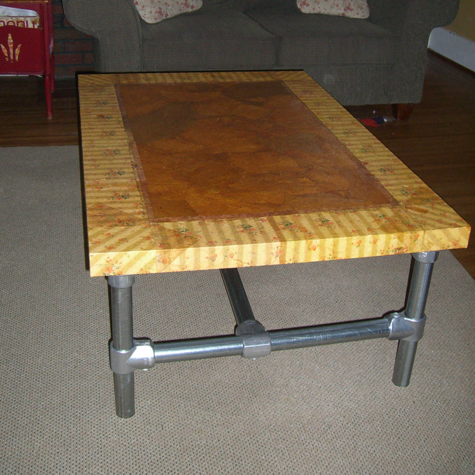 Kee Klamp Coffee Table IKEA Hack