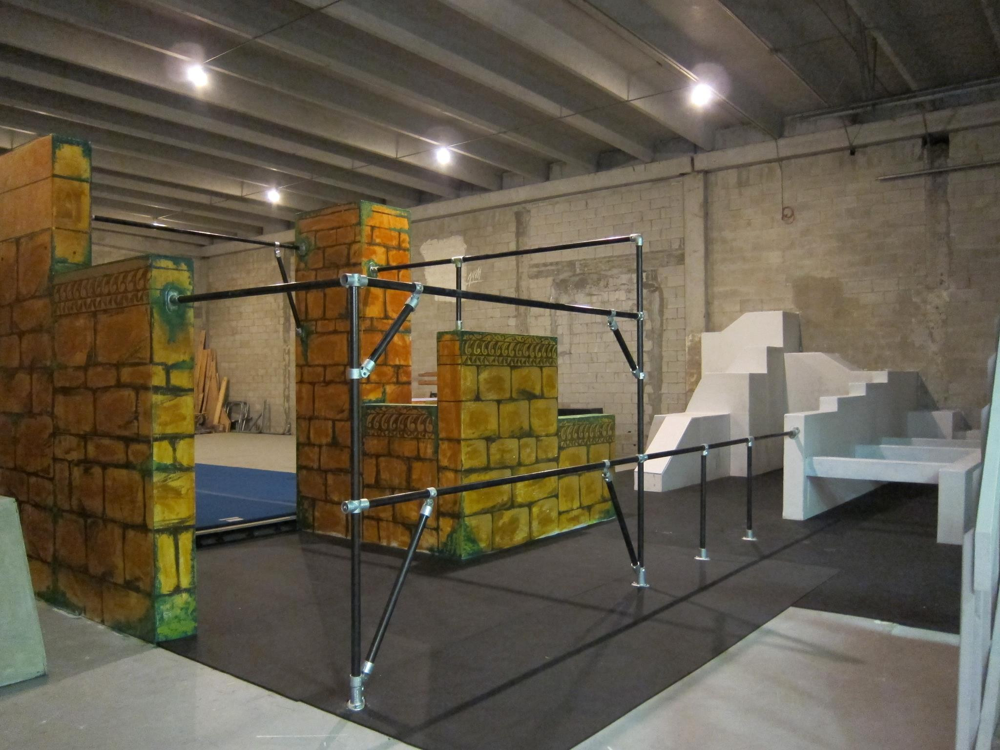 Parkour Structure At Miami Freerunning And Academy