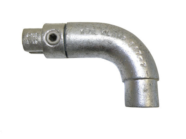 """567-7 - End Post Handrail Return 1-1/4"""" with Internal Coupling"""