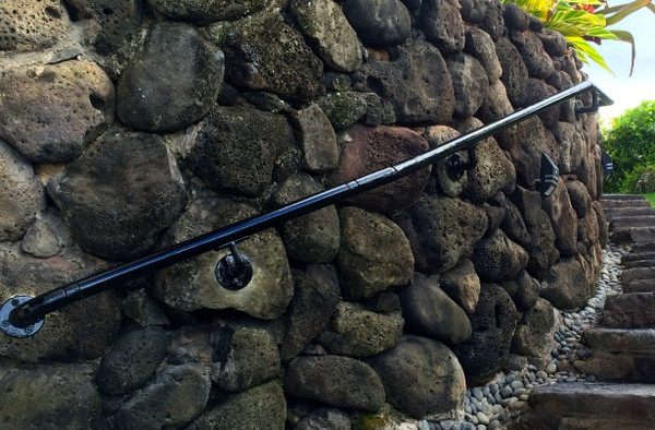 Adding Railing To A Stone Wall Simplified Building