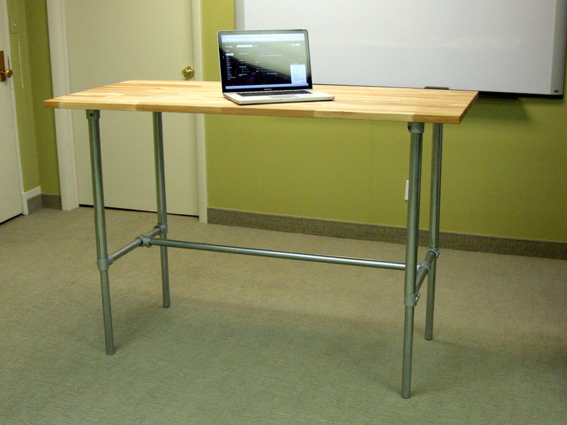 Adjustable Height Sitting-Standing Desk Bundle