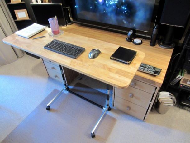 Sit Stand Adjustable Height puter Desk