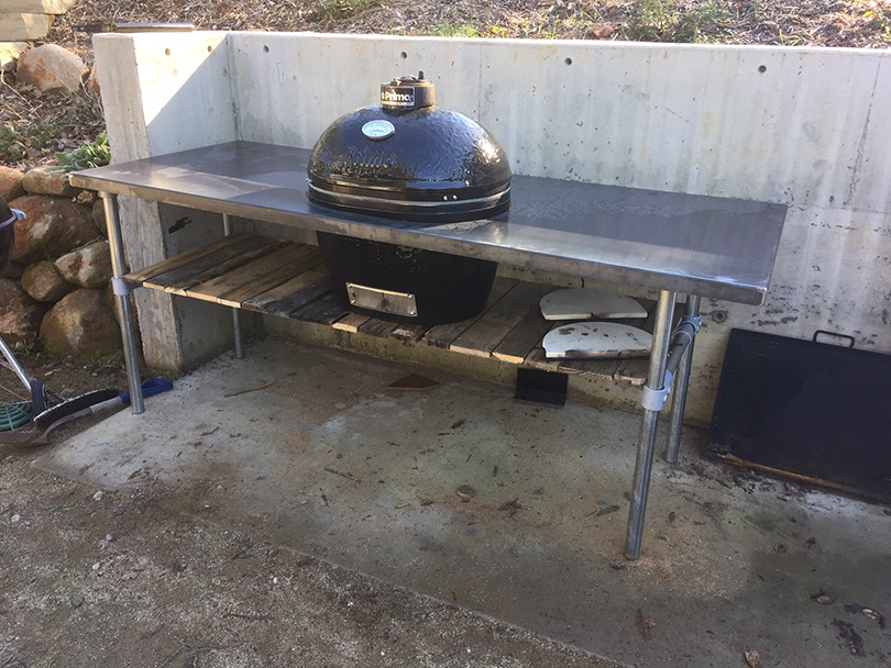 How To Build A Weber Grill Table Simplified Building