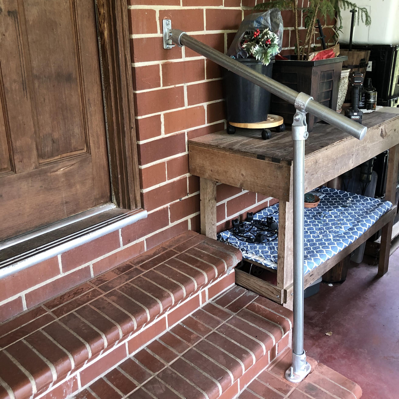 Classic Adjustable Hybrid Simple Rail Handrail