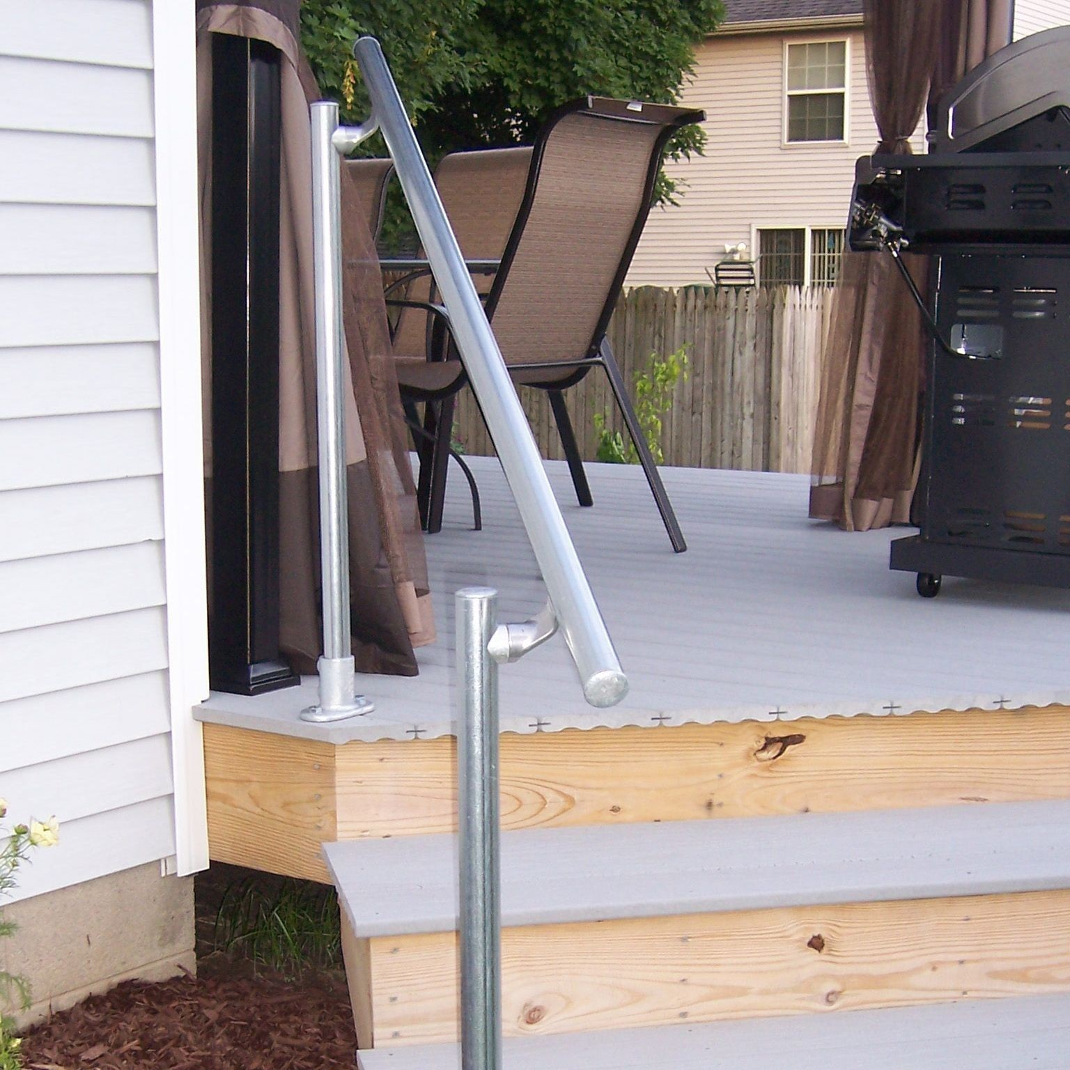 Classic Offset Simple Rail Handrail