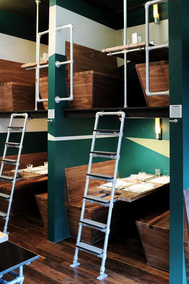 Pipe and Fittings in Contemporary Restaurant Design ...