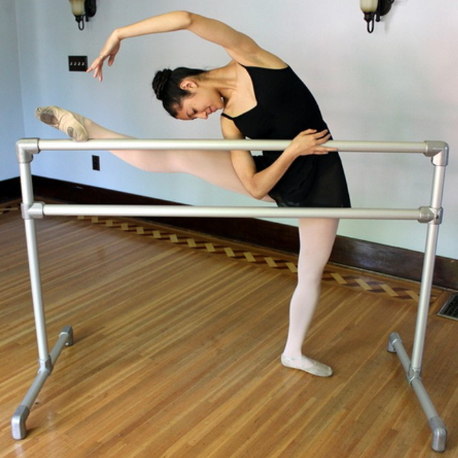 Free-Standing Ballet Barre