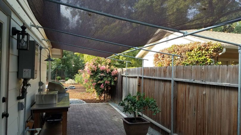 Shade For Deck Canopies