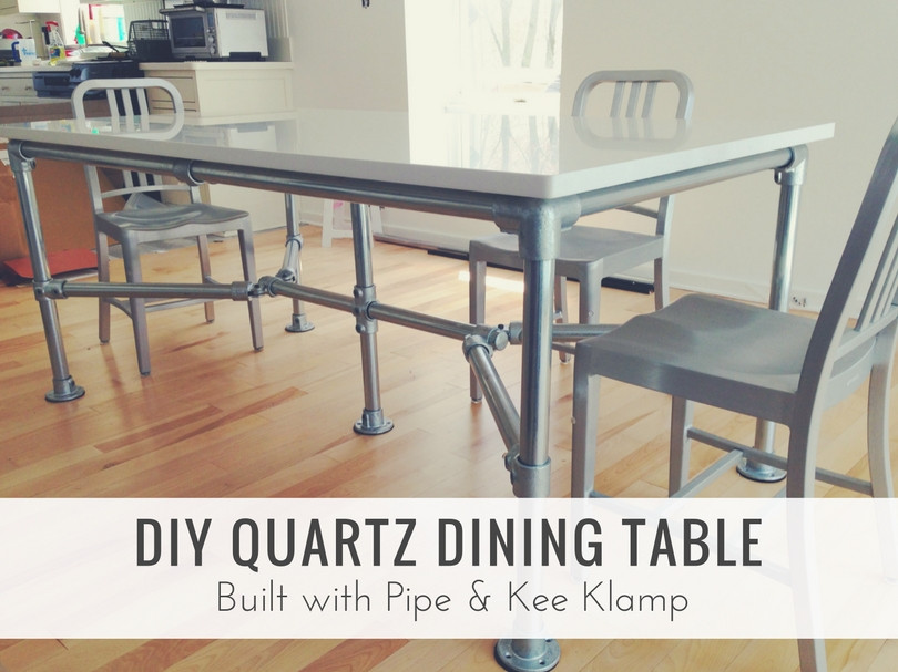 Ron hazelton modular computer desk projects simplified for Quartz top dining table