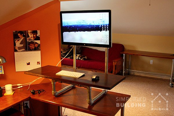 Diy Standing Desk Converter Step By Step Plans