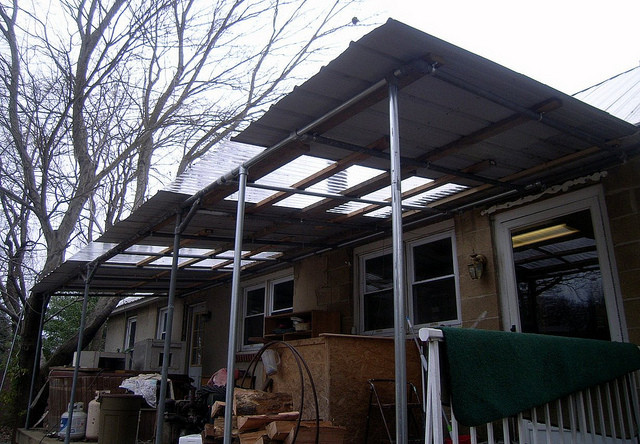 Kee Klamp Porch Roof Support Old And New Simplified Building