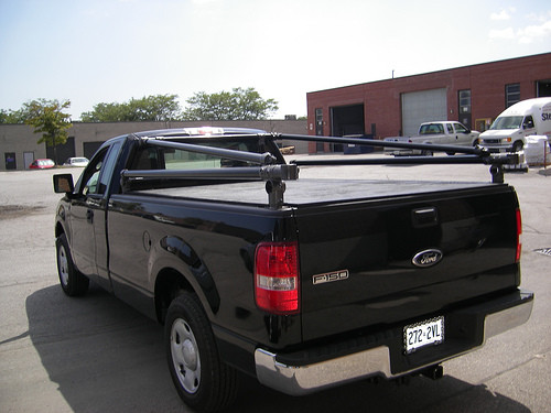 Custom Pickup Truck Rack Kayak Carrier Simplified Building