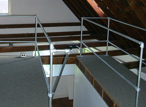 Carriage House Loft Railing Simplified Building