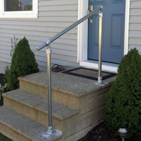 Example Installation of Handrail on Step [c]