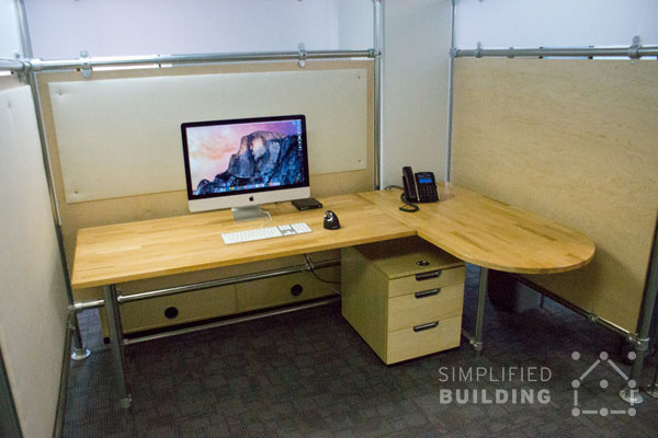 Simplified Adjustable Desks
