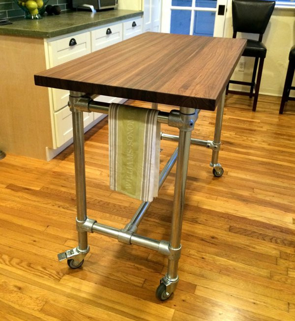 Industrial Pipe Kitchen: Industrial Pipe Desk & Shelving Plans