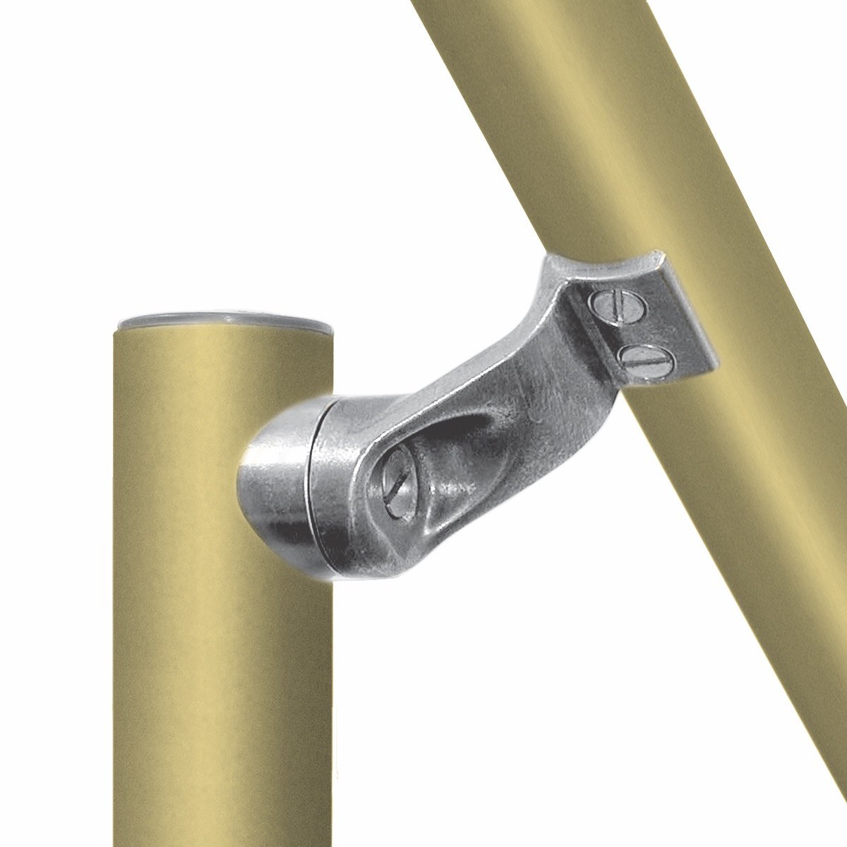 L160 - Smooth Handrail Fitting- ADA Compliant