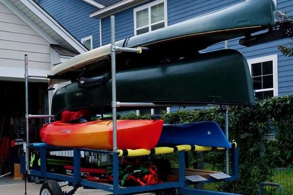 Build Your Own Kayak Trailer: Utility Trailer Conversion