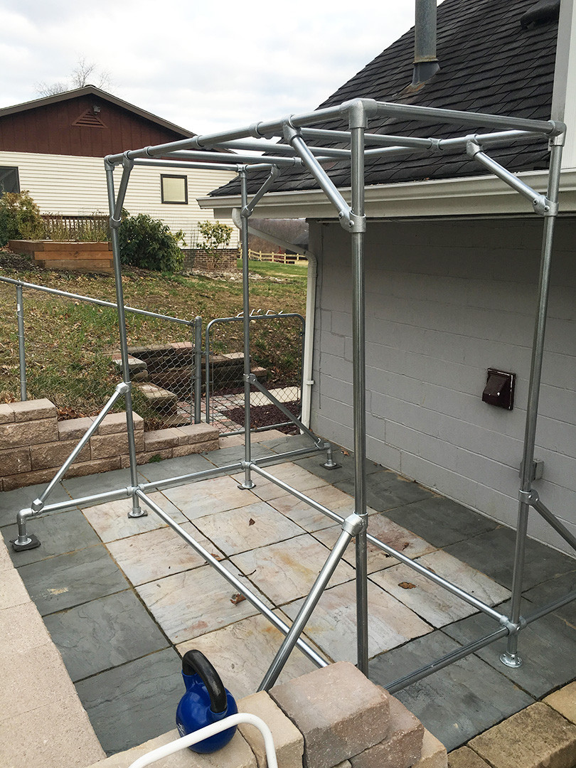 How To Build Monkey Bars Using Galvanized Pipe Fittings