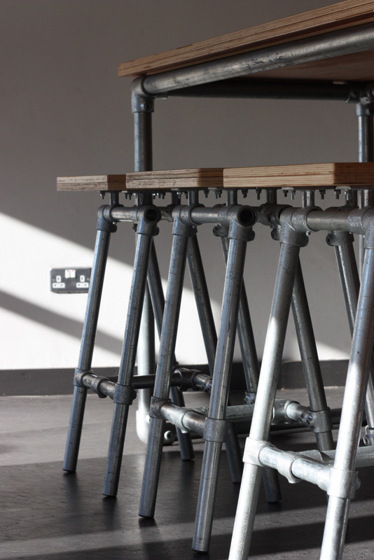 How to Build Industrial Furniture for Your Restaurant