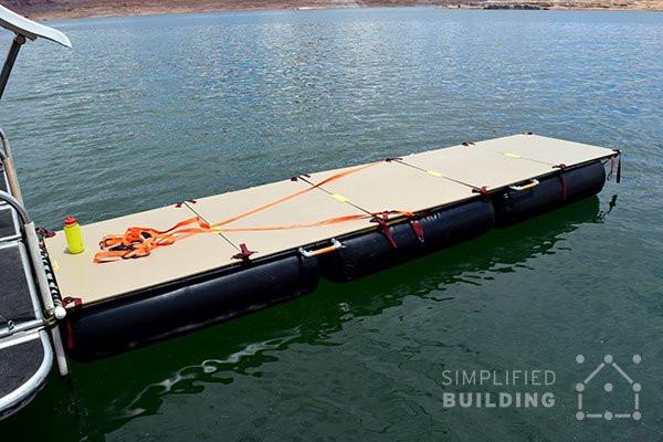 Diy Portable Handrails : Diy portable floating dock simplified building