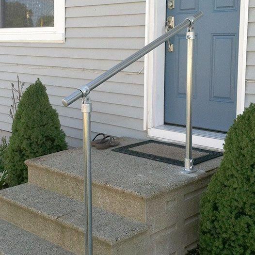 Classic Adjustable Simple Rail Handrail
