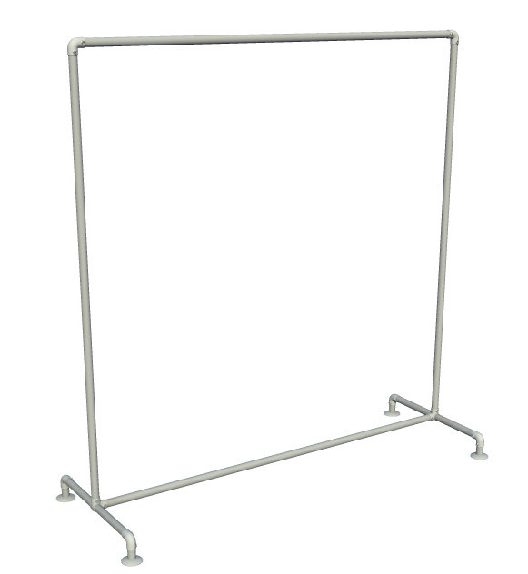 Pipe Clothing Rack - Top Rail Only