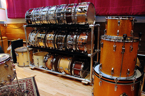 & Rolling Snare Drum Rack | Simplified Building