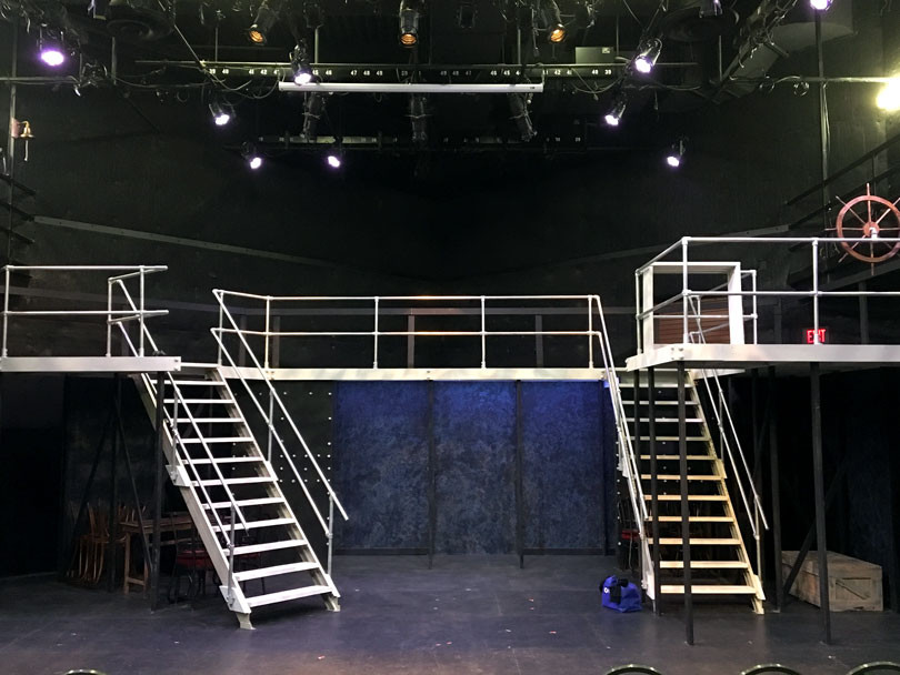 How to Build Your Own Railing for Stage Design