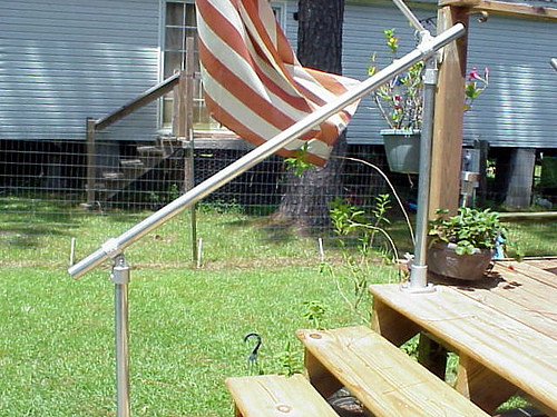 A Simple Handrail For Stairs On Porch Or Deck Simplified