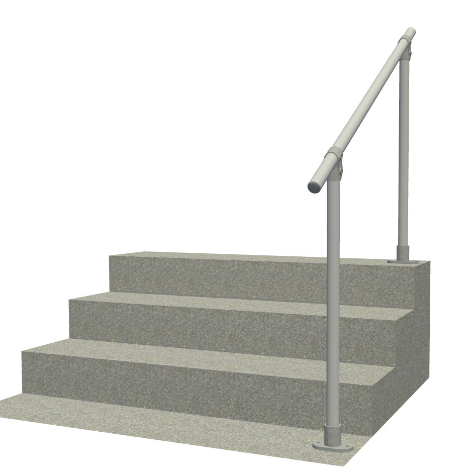 Surface 29   Outdoor Stair Railing, Easy Install Handrail | Simplified  Building