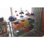 Floating Box Pipe Shelf