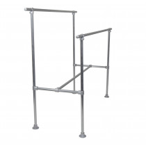 Double Bar H-Rack Clothing Rack