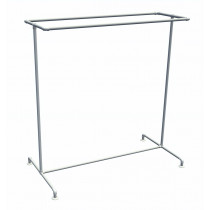 Pipe Clothing Rack - Double Rail