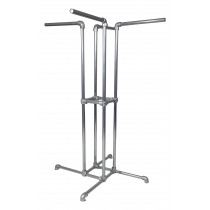 Four-Way Clothing Rack
