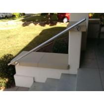 Signature Wall Mount Simple Rail Handrail