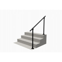 Flat Black 29 - Surface Mounted Handrail