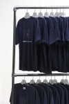 Pipe Clothing Rack - Two Levels of Clothing