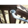 Post Mounted Porch Railing Installation [c]