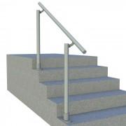 Surface L160A - Surface Mount Railing (Aluminum)